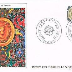 Sellos: FRANCIA IVERT Nº 2208, EUROPA 1982: TRATADO DE VERDUN, PRIMER DIA DE 24-4-1982 . Lote 100993859