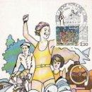 Sellos: FRANCIA IVERT 2394, 50 ANIVERSARIO DEL FRENTE POPULAR (1936-1986), MAXIMA DE 1-2-1986. Lote 107218635