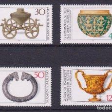 Briefmarken - ALEMANIA FEDERAL 1976 Nº YVERT 746/9*** PATRIMONIO ARQUEOLOGICO - 110243811