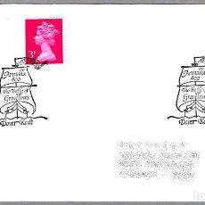 Sellos: MATASELLOS 400 AÑOS ARMADA INVENCIBLE - SPANISH ARMADA - FELIPE II. DOVER KENT, REINO UNIDO, 1988. Lote 110796519