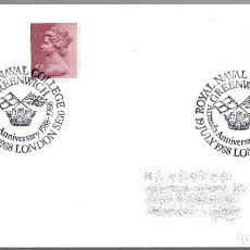 Sellos: MATASELLOS 400 AÑOS ARMADA INVENCIBLE - SPANISH ARMADA - FELIPE II. LONDON, REINO UNIDO, 1988. Lote 110796827