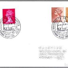 Sellos: MATASELLOS 400 AÑOS ARMADA INVENCIBLE - SPANISH ARMADA - FELIPE II. TAVISTOCK, REINO UNIDO, 1988. Lote 110796983