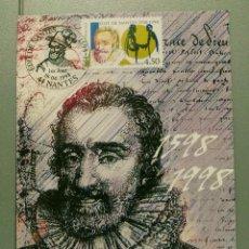 Briefmarken - FRANCIA. MAXIMA. YVERT 3146. EDICTO DE NANTES. - 111084731