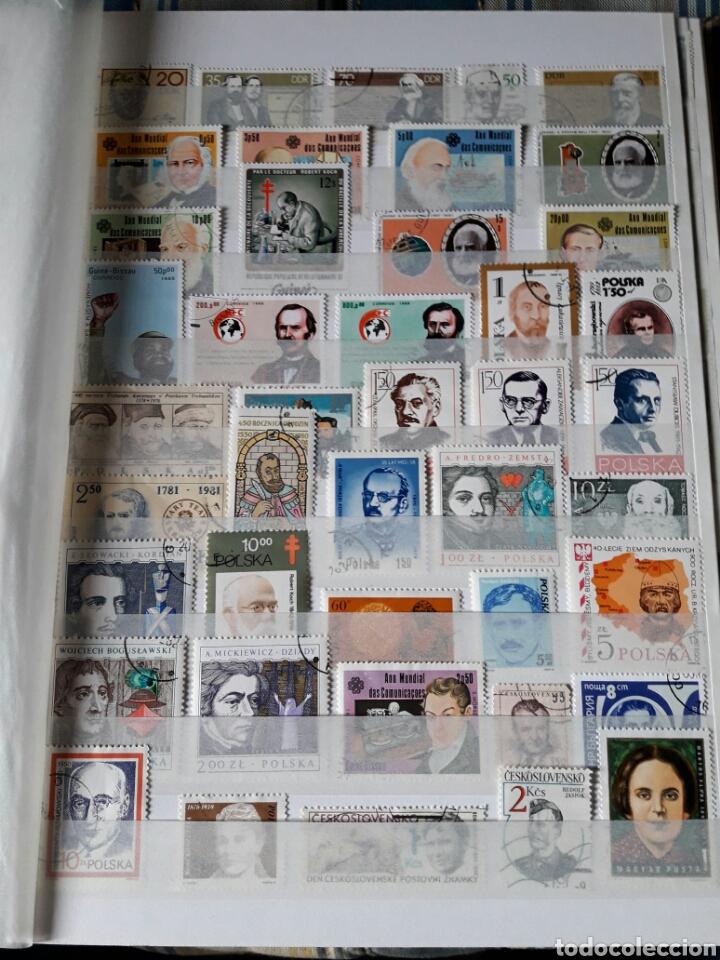 Sellos: Lote 209 Sellos tema personajes Historia. Varios paises. Pregunta cualquier duda. - Foto 2 - 112316967