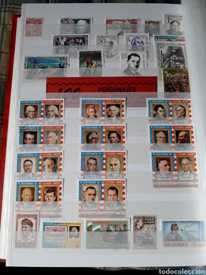 Sellos: Lote 209 Sellos tema personajes Historia. Varios paises. Pregunta cualquier duda. - Foto 3 - 112316967