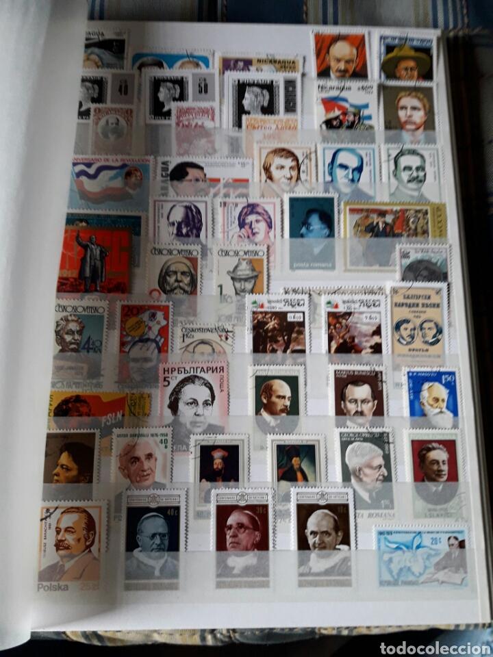 Sellos: Lote 209 Sellos tema personajes Historia. Varios paises. Pregunta cualquier duda. - Foto 4 - 112316967