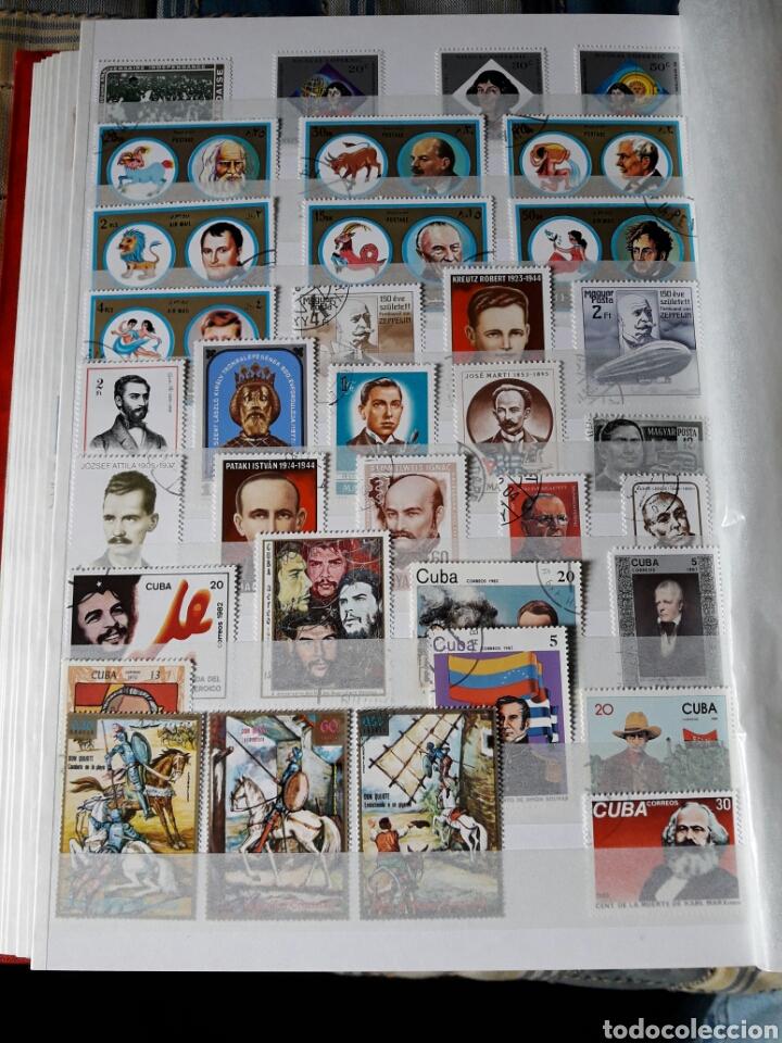 Sellos: Lote 209 Sellos tema personajes Historia. Varios paises. Pregunta cualquier duda. - Foto 5 - 112316967