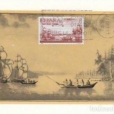 Sellos: EDIFIL Nº 1826, FORJADORES DE AMERICA AÑO 1967 SAN ELIAS, ALASKA TRJETA MAXIMA PRIMER DIA 12-10-1967. Lote 114562955