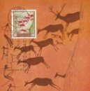 Sellos: EDIFIL Nº 1788, PINTURA RUPESTRE DE LA CUEVA DE LOS CABALLOS EN CASTELLÓN, TARJETA MAXIMA 27-3-1967. Lote 163713498