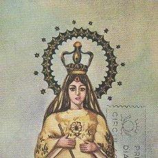 Sellos: EDIFIL 1693, VIRGEN DE ANTIPOLO (EVANGELIZACION DE FILIPINAS), TARJETA MAXIMA DE 3-12-1965. Lote 181349528