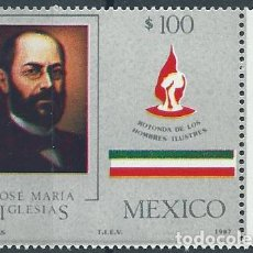 Sellos: AÑO 1987. MÉXICO. SCOTT 1472. MINT. JOSÉ M. IGLESIAS, ESCRITOR, POLÍTICO, PRESIDENTE DE MÉXICO.. Lote 118536135