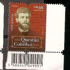 Briefmarken - Portugal ** & La Cuestión Coimbra, António de Castilho por Anthero del Quental 1865-2015 (Barras) - 119623931