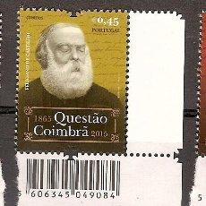 Briefmarken - Portugal ** & La Cuestión Coimbra, António de Castilho por Anthero del Quental 1865-2015 (Barras1) - 119624143