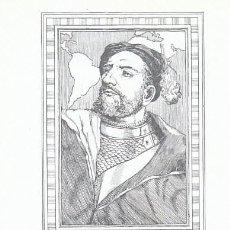 Sellos: EDIFIL 1456-60, JUAN DE GARAY (FORJADORES DE AMERICA), TARJETA MAXIMA DE 12-10-1962. Lote 120540387