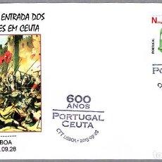 Sellos: MATASELLOS 600 AÑOS ENTRADA DE LOS PORTUGUESES EN CEUTA. LISBOA, PORTUGAL, 2015. Lote 124212327