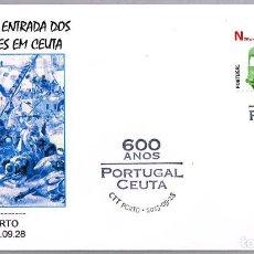 Sellos: MATASELLOS 600 AÑOS ENTRADA DE LOS PORTUGUESES EN CEUTA. PORTO, PORTUGAL, 2015. Lote 124212411