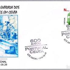Sellos: MATASELLOS 600 AÑOS ENTRADA DE LOS PORTUGUESES EN CEUTA. FUNCHAL, PORTUGAL, 2015. Lote 124212503