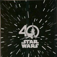 Sellos: PORTUGAL & 40 ANOS, BOOKLET PRESTIGIO STAR WARS 2017 (3333) . Lote 126419947