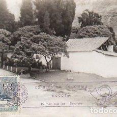 Sellos: COLOMBIA, QUINTA DE BOLIVAR EN BOGOTA, TARJETA MÁXIMA DE 28-9-1955. Lote 127446451