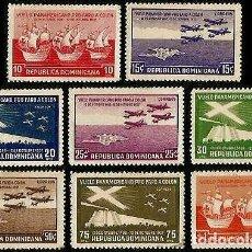 Sellos: R. DOMINICANA 1937 DESCUBRIMIENTO FARO DE COLON. Lote 127841967