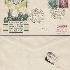 Sellos: AÑO 1951,V CENTENARIO DE ISABEL LA CATÓLICA, ACROSTICO DE LOS REYES CATOLICOS, PANFILATELICAS CIRCUL. Lote 128021371