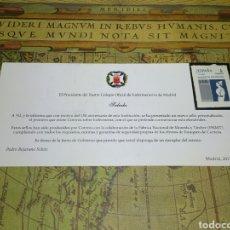 Sellos: SELLO CONMEMORATIVO 150 AÑOS DEL ILUSTRE COLEGIO OFICIAL DE ENFERMERAS DE MADRID. Lote 131903347