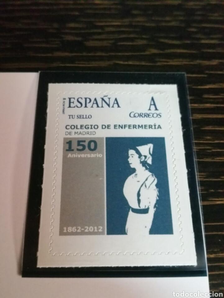 Sellos: Sello conmemorativo 150 años del Ilustre Colegio Oficial de enfermeras de Madrid - Foto 2 - 131903347