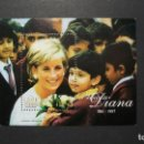 Sellos: FAMILIAS REALES-DIANA SPENSER-URUGUAY-1998-Y&T BL. 68**(MNH)-A 10%. Lote 135526750