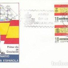 Sellos: EDIFIL 2791, II CENTº LA BANDERA ESPAÑOLA, PRIMER DIA DE 28-5-1985 SOBRE DEL SFC. Lote 139337582