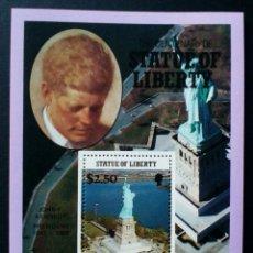 Timbres: PRESIDENTE USA KENNEDY HOJA BLOQUE DE SELLOS NUEVOS DE ISLAS VÍRGENES. Lote 244826650