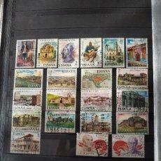 Sellos: ESPAÑA - HISPANIDAD Y LIBERTADORES 21 SELLOS. Lote 145950698