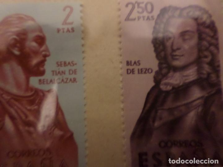 Sellos: SELLOS SERIE COMPLETA PERSONAJES HISTORICOS - Foto 2 - 147523238