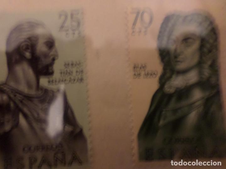 Sellos: SELLOS SERIE COMPLETA PERSONAJES HISTORICOS - Foto 4 - 147523238