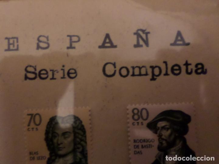 Sellos: SELLOS SERIE COMPLETA PERSONAJES HISTORICOS - Foto 7 - 147523238