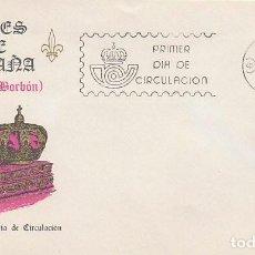 Sellos: EDIFIL 2497, LUIS I, REYES DE ESPAÑA, CASA DE BORBON, PRIMER DIA DE 22-11-1978 EN SOBRE DEL SFC. Lote 148051498