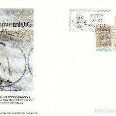 Sellos: EDIFIL 2506, MILENARIO CONSAGRACION BASILICA DE RIPOLL, PRIMER DIA DE 27-12-1978 FLASH. Lote 148188430