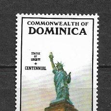 Sellos: DOMINICA 1986 SC 944 - $5 STATUE, VERT. 5.75 ** MNH - 7/17. Lote 148616950