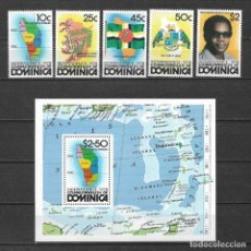 Sellos: DOMINICA 1978 ** MNH - INDEPENDENCIA DOMINICANA. -124. Lote 148648602