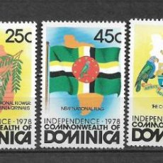 Sellos: DOMINICA 1978 ** MNH - INDEPENDENCIA DOMINICANA. -124. Lote 148648646