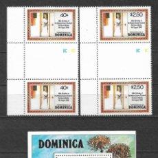 Sellos: DOMINICA 1980 ** MNH - REALEZA -124. Lote 148653906
