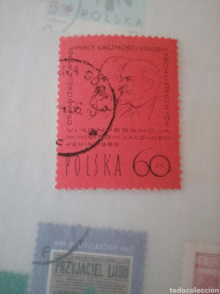 SELLOS R. POLONIA (POLSKA) MTDOS/1965/CONFERENCIA SERVICIO POSTAL PAISES SOCIALISTAS/MARX/LENIN (Briefmarken - Thematische - Geschichte)