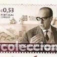 Sellos: PORTUGAL ** & VITORINO MAGALHAES GODINHO, HISTORIADOR 1918-2011, CULTURA PORTUGUESA 2018 (9968). Lote 150513182