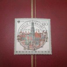 Sellos: SELLOS ALEMANIA, R. FEDERAL MTDO/1998/1100 ANIV. FUNDACION NORDLINGER/CASTILLO/FORTALEZA/MURALLA/. Lote 155915218