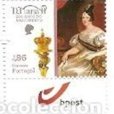 Sellos: PORTUGAL ** & 200 AÑOS DEL NACIMIENTO DE D. MARIA II 2019 (3463). Lote 156642150