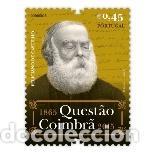 PORTUGAL ** & LA CUESTIÓN DE COIMBRA, FELICIANO DE CASTILHO 1865-2015 (6881) (Sellos - Temáticas - Historia)