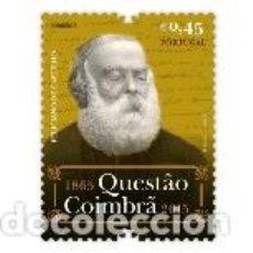 Sellos: PORTUGAL ** & LA CUESTIÓN DE COIMBRA, FELICIANO DE CASTILHO 1865-2015 (6881). Lote 156715566
