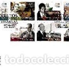Sellos: PORTUGAL & FDC NOMBRES DE LA HISTORIA Y CULTURA PORTUGUESA 2018 (5799). Lote 156729382