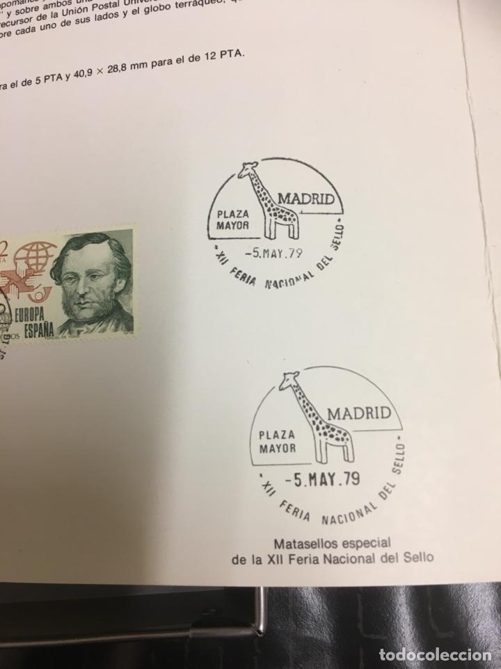 Sellos: 2 sellos hoja EDIFIL Europa 79 historia del correo - Foto 3 - 159706941