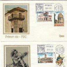 Sellos - EDIFIL 2213/6, HISPANIDAD: ARGENTINA, PRIMER DIA DE 12-10-1974 EN DOS SOBRES DE MUNDO FILATELICO - 160983038