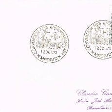 Sellos: AÑO 1973, CONVENCION FILATELICA HISPANO AMERICANA, CRISTOBAL COLON, NAVE. Lote 160985642